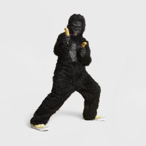 Kids' Deluxe Gorilla Costume Jumpsuit with Mask Size Large - Hyde & EEK! Boutique for Sale in El Monte, CA