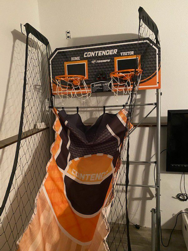 Fold Up Double Player Hoop