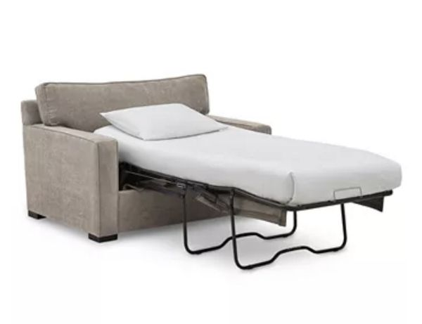 Small Couch / Large Chair - Pull Out Bed