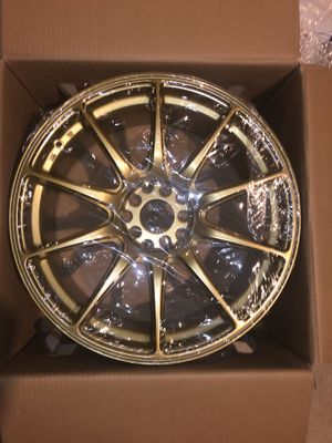 XXR 527's (Gold) [TWO RIMS ONLY] for Sale in Burtonsville, MD