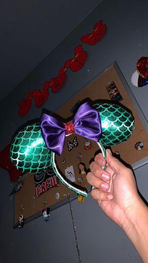 Ariel inspired Mickey ears for Sale in Industry, CA
