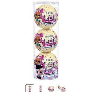 New 3pk LOL confetti surprise balls for Sale in Phoenix, AZ