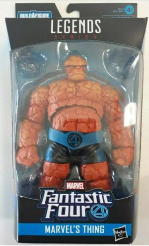 Marvel Legends The Thing Collectible Action Figure Toy with Super Skrull Build a Figure Piece for Sale in Chicago, IL