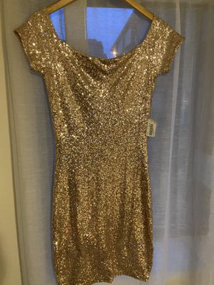 Gold Sequin Dress for Sale in Boston, MA
