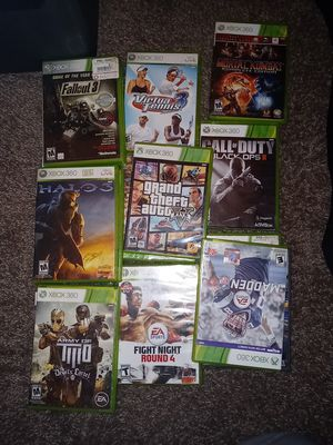 GTA V Fight Night 4 many more Xbox 360 games for Sale in Phoenix, AZ