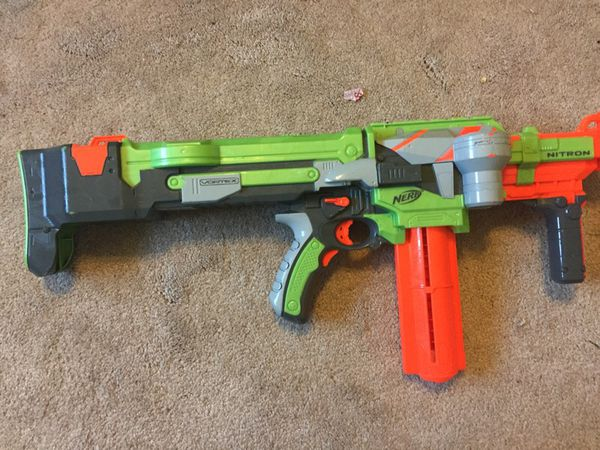 Nerf gun nitron
