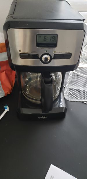Mr coffee with timer coffee maker for Sale in Glendale, AZ