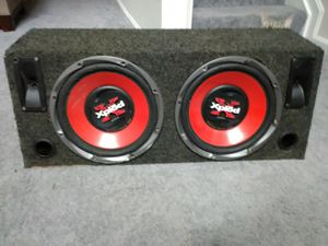 "Two 12"" Subwoofers with Box for Sale in Glen Burnie, MD"
