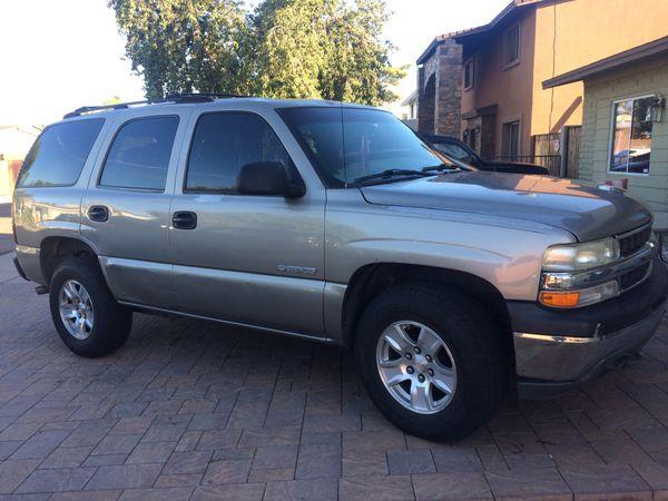 Chevy Tahoe 4x4 2001 for Sale in Phoenix, AZ - OfferUp