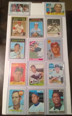 14 Vintage Baseball Cards for Sale in Cicero, IL