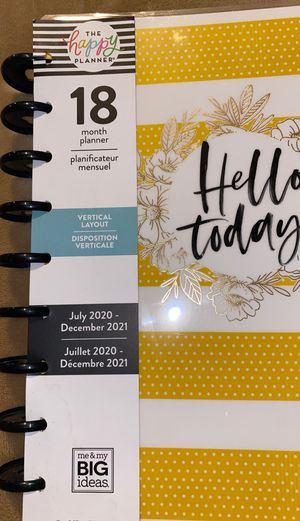 2020-2021 planner for Sale in Los Angeles, CA