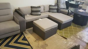 Brand New Patio Furniture Sectional with Ottoman tax included and free delivery for Sale in San Lorenzo, CA