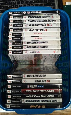 PS2 Basketball and Football Games -$5.00 each for Sale in Salem, OR