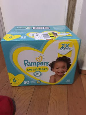 Pampers SIZE 6 50 pañales for Sale in Rancho Dominguez, CA