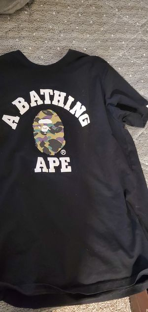Bape colored camo t shirt for Sale in Denver, CO