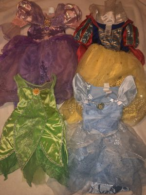 4 Disney Store Princess Costumes for Sale in Mesa, AZ