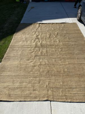 9x12 jute rug for Sale in Apex, NC