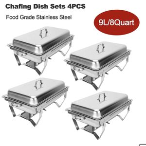 6 Complete Chafing Sets - $50 Each for Sale in Hollywood, FL