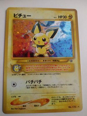 Pichu Pokemon card for Sale in Tucson, AZ