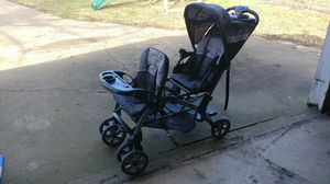 Sit N Stand Double stroller for Sale in Shiloh, IL