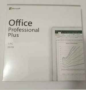 Genuine and Brand New Microsoft Office 2019 Professional for Sale in Santa Fe, NM