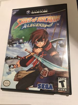 Nintendo Skies of Arcadia Legends GameCube SUPER RARE for Sale in Wyncote, PA