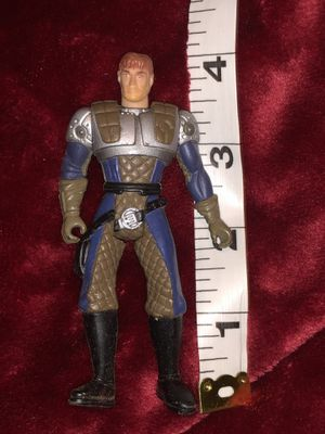 G.I. Joe figurine action figure collector toy doll (blue and silver) for Sale in Phoenix, AZ