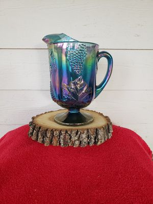 Vintage Indiana Glass Iridescent Water Pitcher for Sale in Cedar Creek, TX