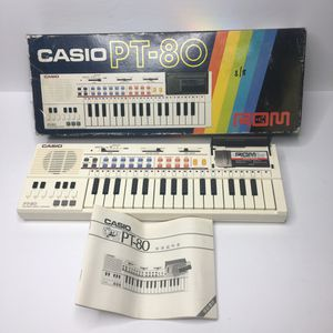 Casio PT-80 Electronic Music Keyboard Piano Vintage for Sale in Towson, MD