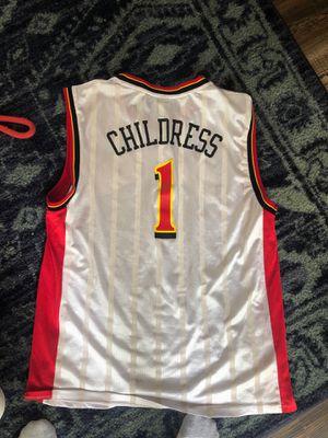 Retro Atlanta Hawks Josh Childress Size Adult L for Sale in Dothan, AL