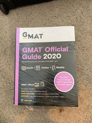 GMAT official guide study books for Sale in Washington, DC