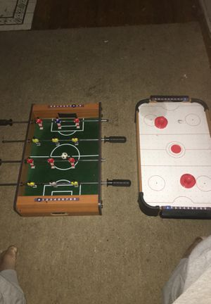 Foozball table & air hockey table for Sale in Shaker Heights, OH