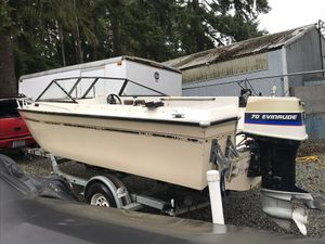 70 hp evinrude outboard motor only. for Sale in Everett, WA