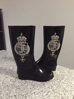 Juicy Couture Rain-boots Sz9 for Sale in Westerville, OH
