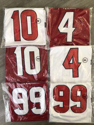 Houston Texans jerseys JJ Watt, Watson and Hopkins for Sale in Downey, CA