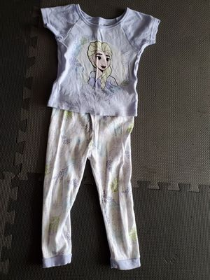 Girl's Frozen Elsa Pajamas Size 3T for Sale in Tampa, FL