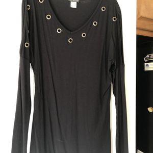 Women's V-neck, Long Sleeve Tunic for Sale in Forsyth, GA