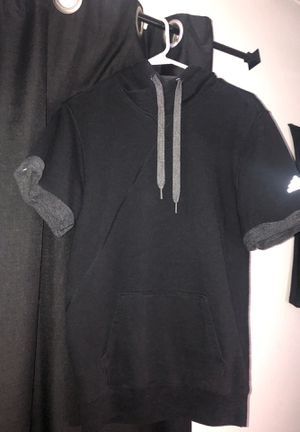 Adidas Athletic Hoodie short sleeve for Sale in Collinsville, IL