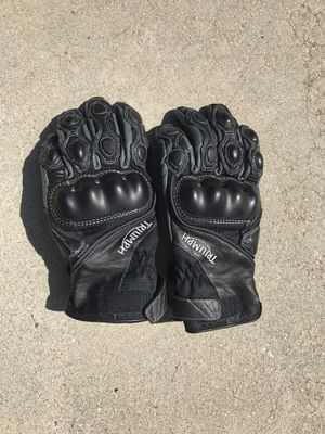 Triumph motorcycle gloves-Medium-never used for Sale in Los Angeles, CA