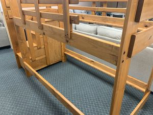 **☀️🥵🤑 Twin/Twin Staircase SUMMER SALE CLEARANCE☀️🥵🤑Bunk Bed w/Staircase Drawers 🚚JULY 2020 SALE FAST DELIVERY CHARLOTTE AREA 🚚🔥🔥***buysmart and SA for Sale in Charlotte, NC