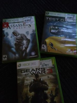Xbox 360 games $5 each for Sale in Seattle, WA