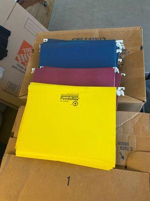 File cabinet folders for Sale in El Cajon, CA