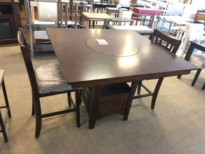 Wooden table w chairs on sale for Sale in Phoenix, AZ