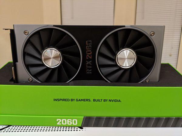 Nvidia RTX 2060 Founders Edition GPU