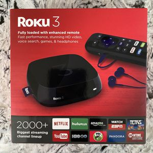 Roku 3 Streaming Player for Sale in Kirkland, WA
