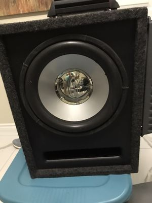 Subwoofer+2 Amps Rockford Fosgate+ MTX NOT RUSH TO SELL IT. for Sale in Las Vegas, NV