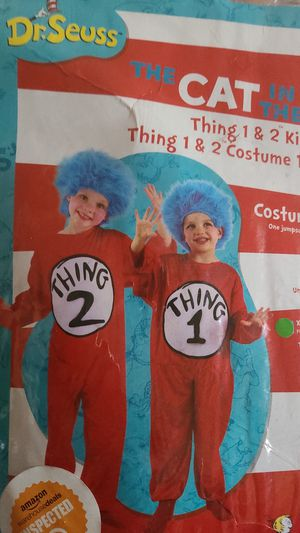 Thing 1 costume kids for Sale in San Diego, CA