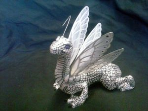 Pearl fairy dragon sculpture for Sale in Florence, MT