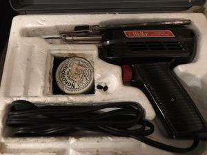 Weller soldering iron w/ case for Sale in East Hanover, NJ