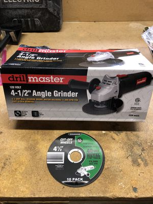 Angle grinder with one cutoff wheel. Brand new. for Sale in Renton, WA